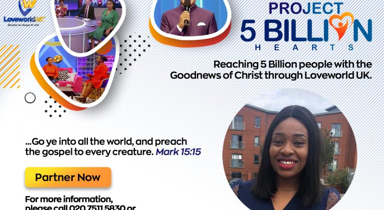 Reaching 5 Billion Hearts With Pastor Glory Opara