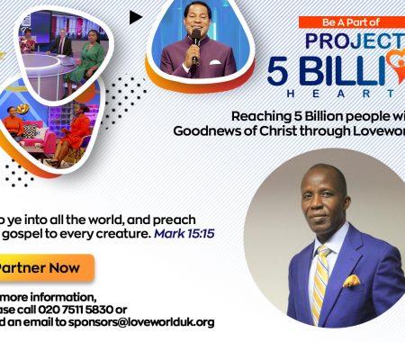 Reaching 5 Billion Hearts With Pastor Tony Obi