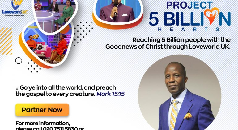 Reaching 5 Billion Hearts With Pastor Tony Obi