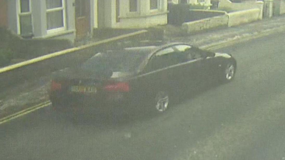 Sergei Skripal's car in Salisbury
