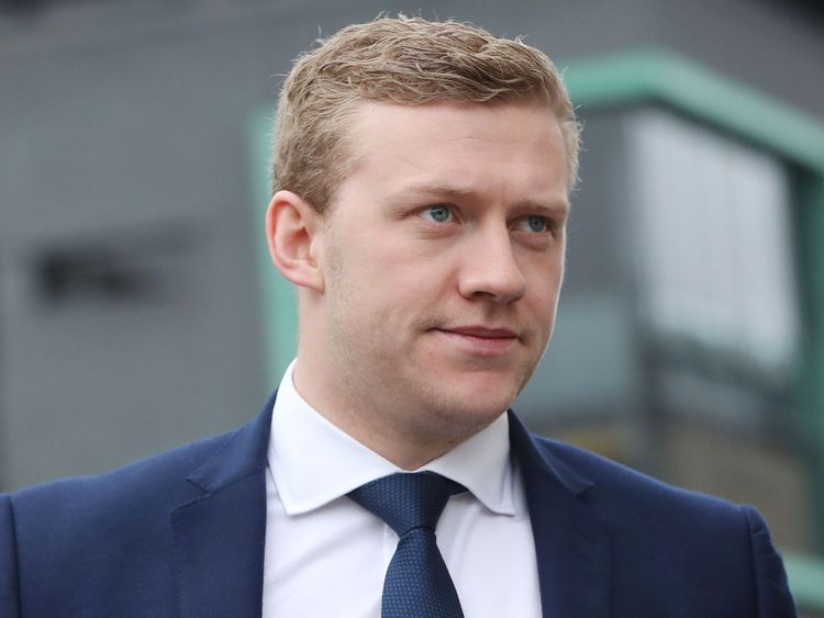 The judge directed the jury to find Stuart Olding not guilty