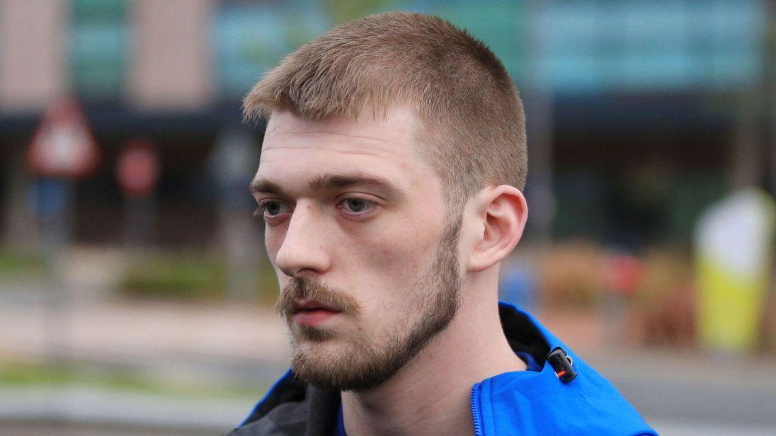Tom Evans spoke outside Alder Hey Children's Hospital on Tuesday