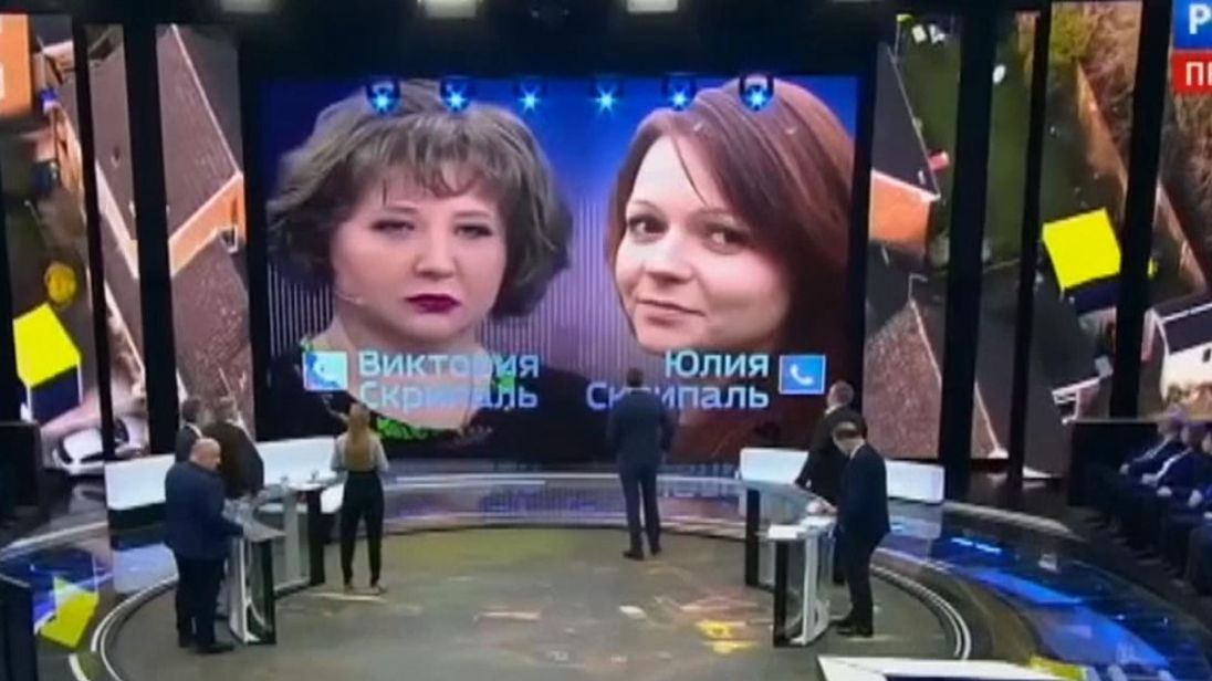 Russia TV airs 'Skripal call'