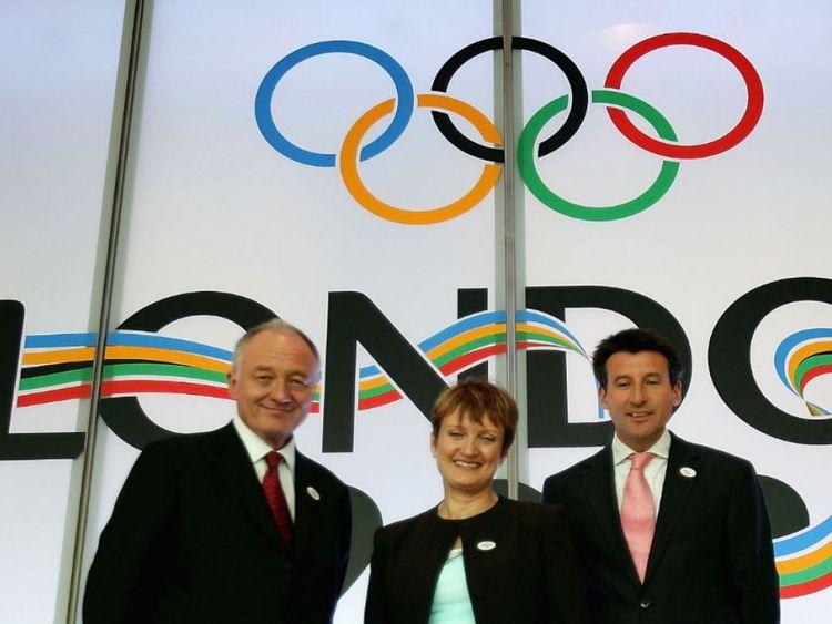 (L-R) Ken Livingstone, Tessa Jowell and Seb Coe