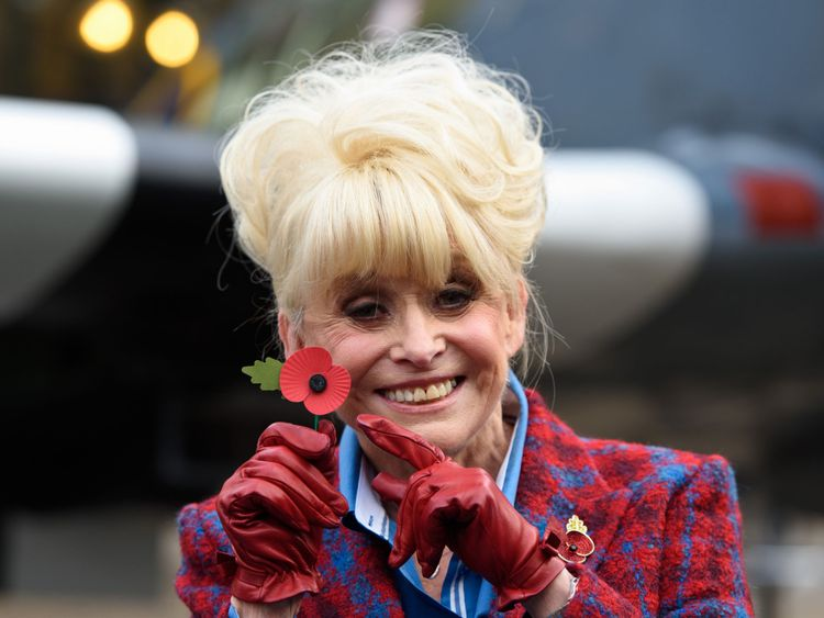 Barbara Windsor was made a Dam for her charity work