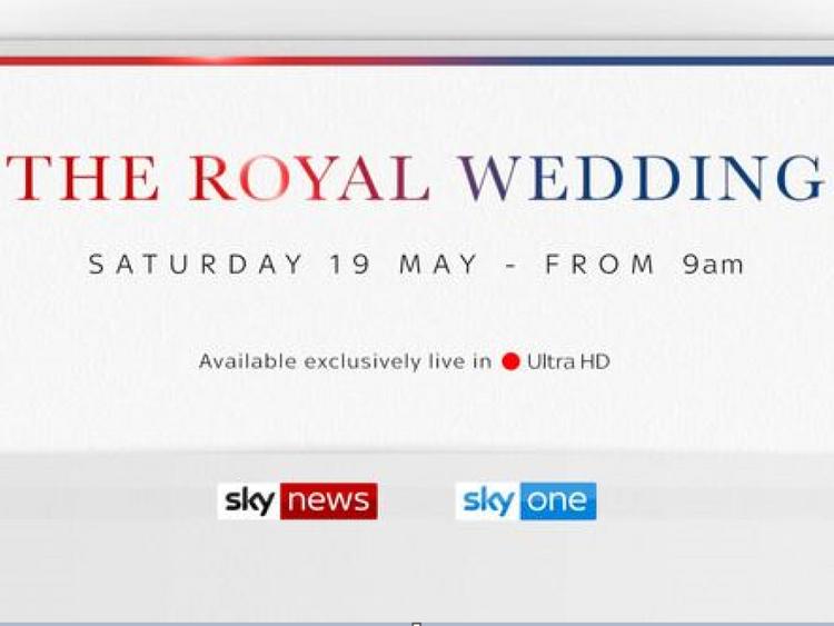 Follow the royal wedding on Sky News