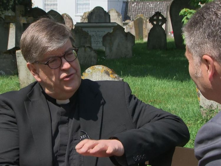 Rev Tim Barker believes life is sacrosanct and opposes assisted dying