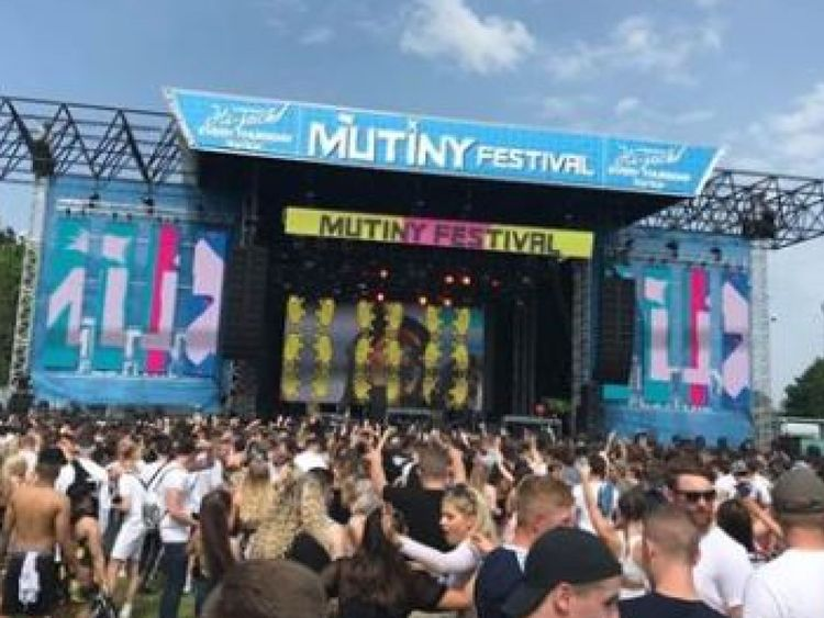 Festival organisers have put out a 'harm prevention alert' following the deaths