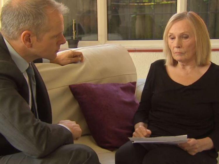 Patricia Minchin spoke with Sky News' health correspondent Paul Kelso