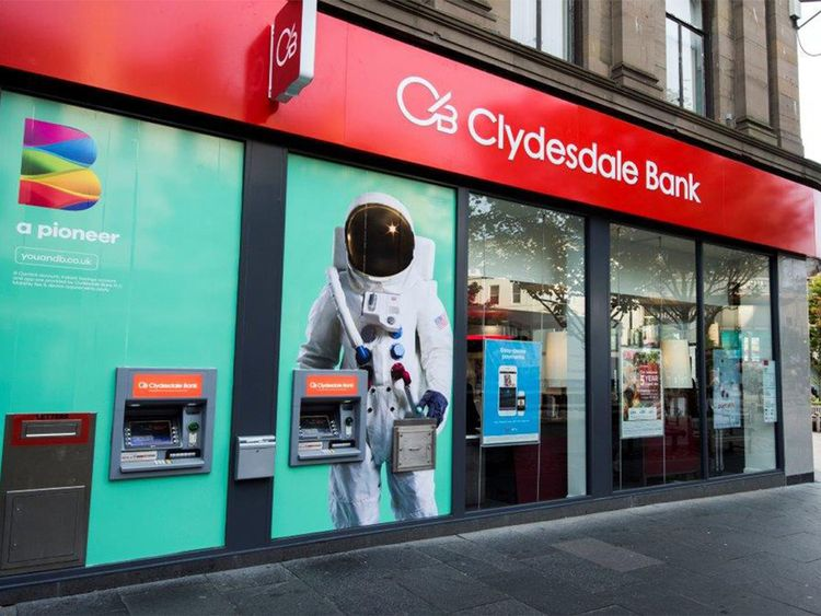 Clydesdale is one of CYBG's brands. Pic: CYBG
