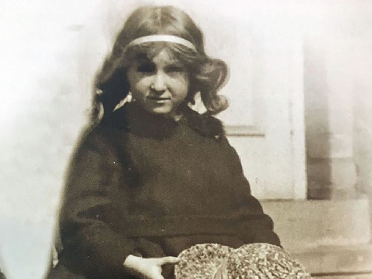 A photo issued by the Royal British Legion shows Rosemary Powell at the age of 6