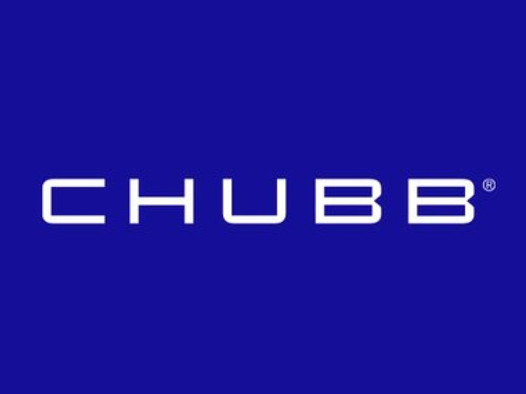 Logo of Chubb, a US-based insurance firm