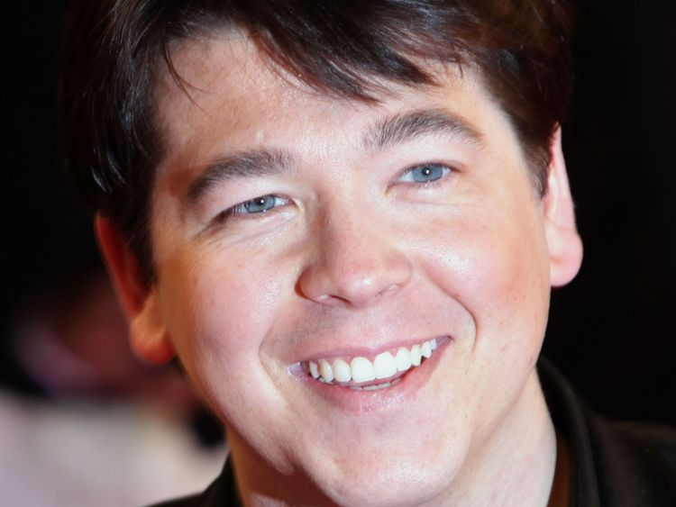 Michael McIntyre has allegedly been robbed