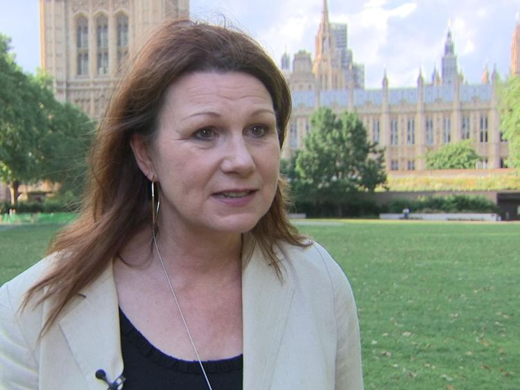 Shadow Environment Secretary Sue Hayman is challenging the government