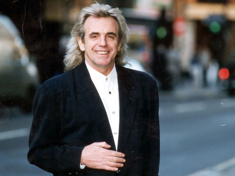 Peter Stringfellow in Soho, 1994