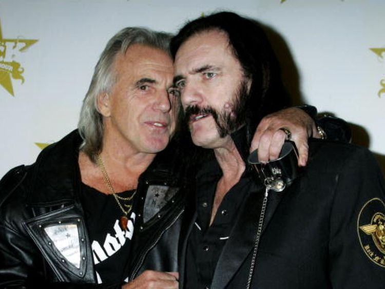 Stringfellow with the Motorhead frontman Lemmy