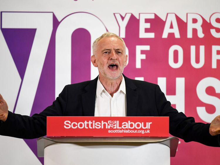 Jeremy Corbyn will be one of the famous faces to address the rally