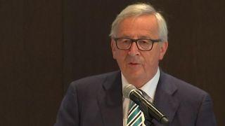 Jean-Claude Juncker calls unilateral US trade tariffs 'unacceptable'
