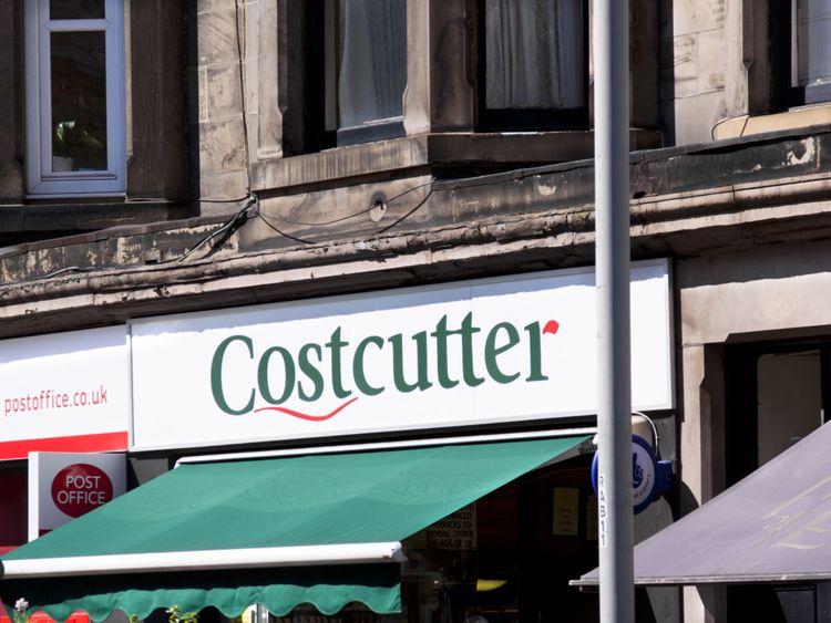 Costcutter shop