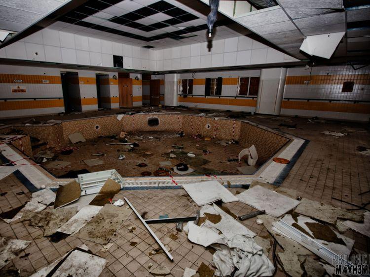 Aston Hall hospital - hydro pool. Pic: Project Mayhem