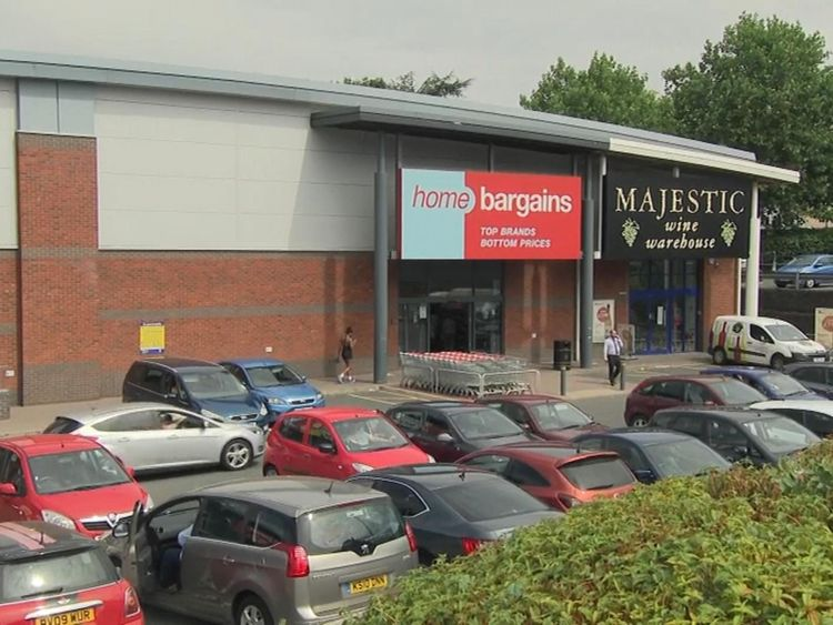 "Th toddler was ""deliberately targeted"" inside the Home Bargains store in a retail park"