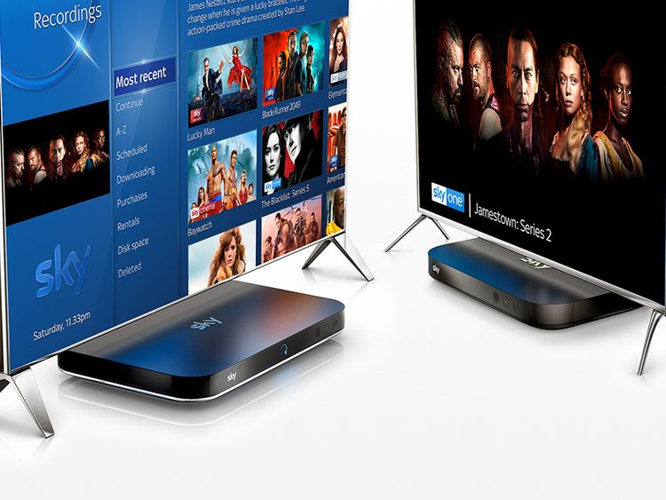 Sky Q Multiscreen, watch around the home