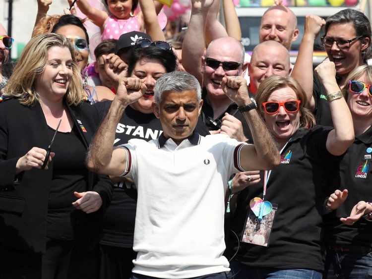 Sadiq Khan was called a terrible mayor by the president
