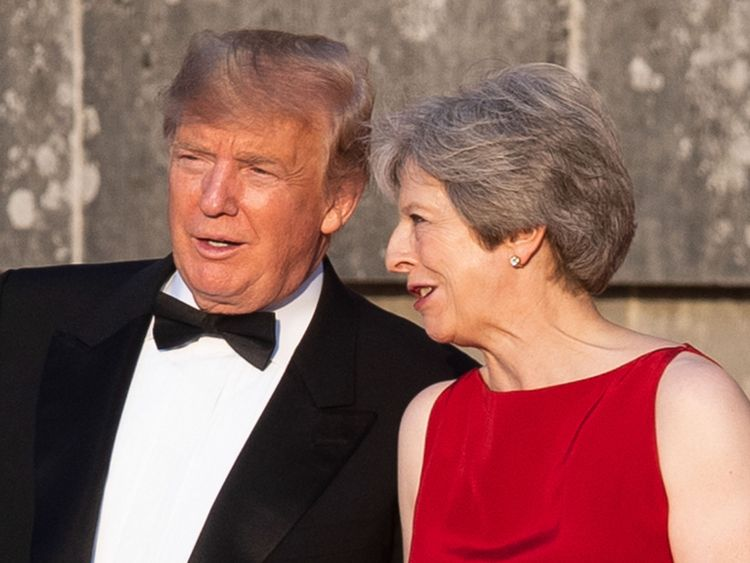 Donald Trump made scathing comments on the Brexit deal in an interview