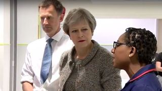 The Prime Minister and the Health Secretary visit the Royal Free Hospital