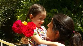 Nazanin Zaghari-Ratcliffe, the British woman in prison in Iran, has been reunited with her daughter during a three day release.