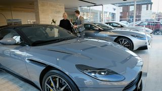 Aston Martins on sale in Cheshire
