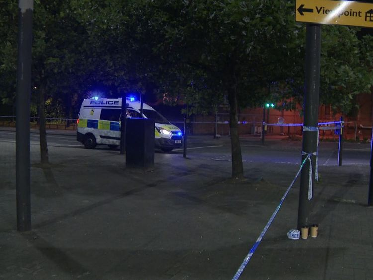 Roads in Wandsworth, south London, have been shut after the shooting