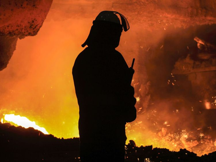 British Steel employs 4,000 workers in the UK, mainly in Scunthorpe