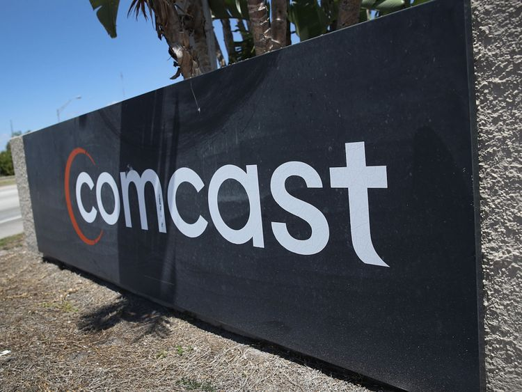 Comcast had the higher bid ahead of the auction