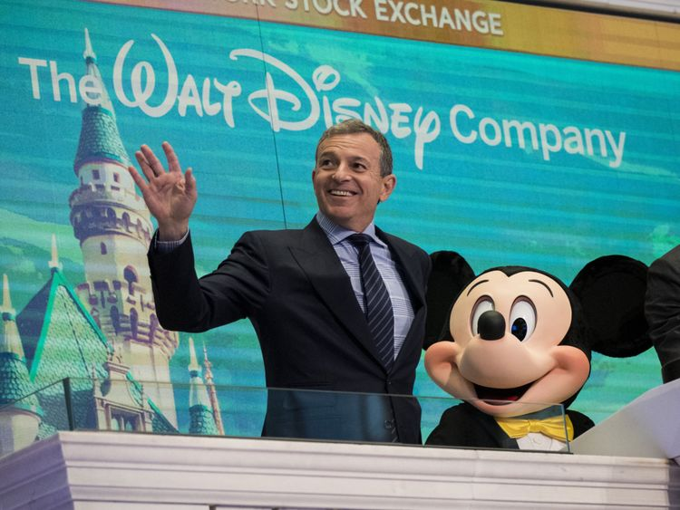 Chief executive officer and chairman of The Walt Disney Company Bob Iger