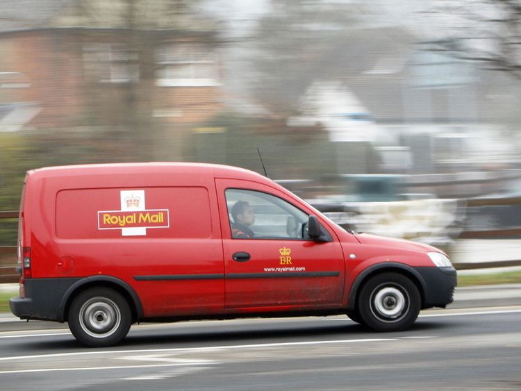 Royal Mail has banned its drivers from putting flags on their vans during the World Cup