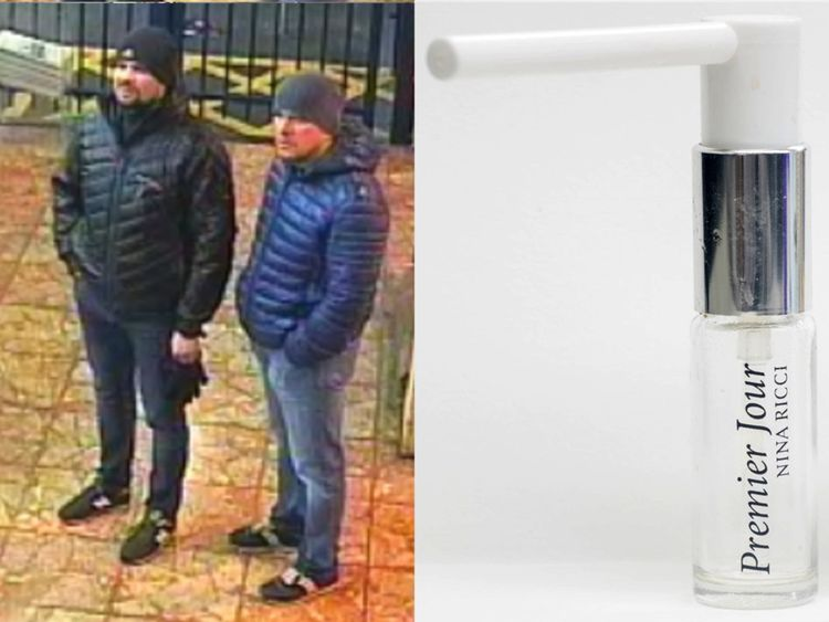 Both suspects at Salisbury train station