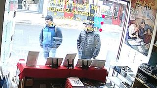 Alexander Petrov and Ruslan Boshirov. Pic: MailOnline