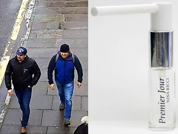 Both suspects on Fisherton Road, Salisbury on March 4th 2018
