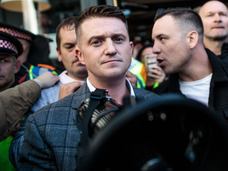 The EDL founder's case was adjourned at the Old Bailey on 27 September