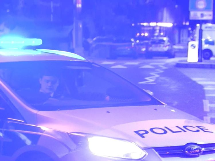 Three officers were hurt in Islington