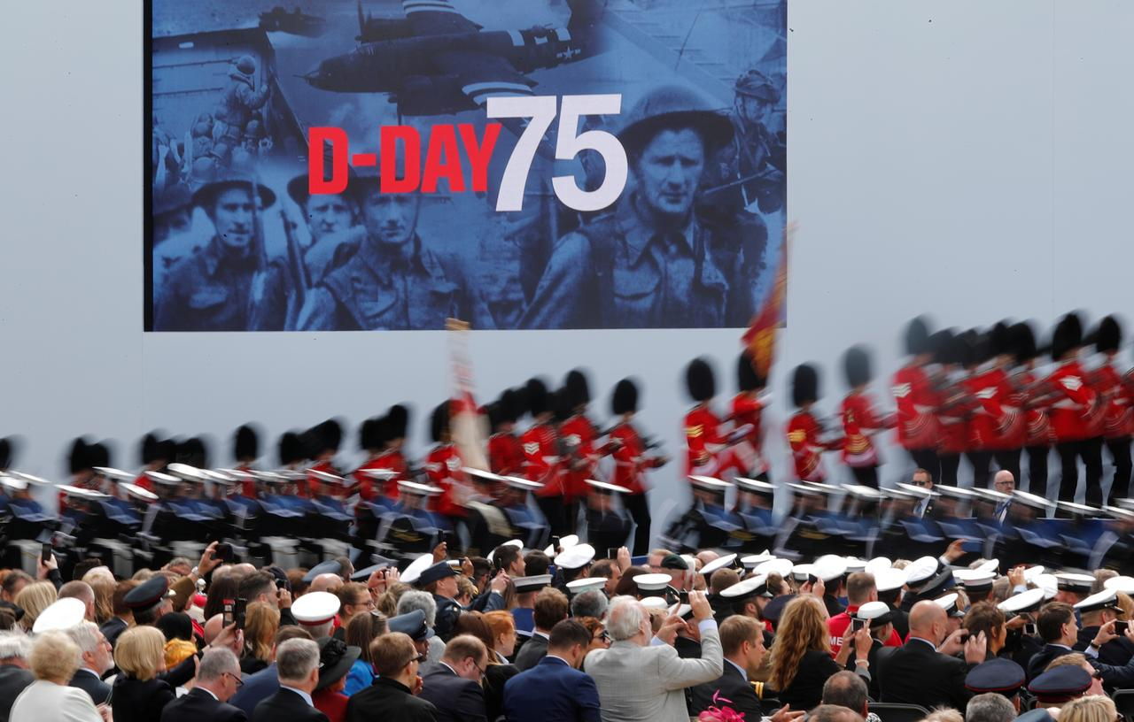 D-DAY 75th ANNIVERSARY World leaders join Queen Elizabeth ...